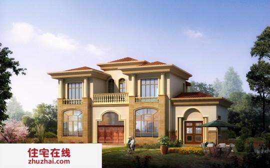 【二层】带堂屋自建别墅设计全套施工图