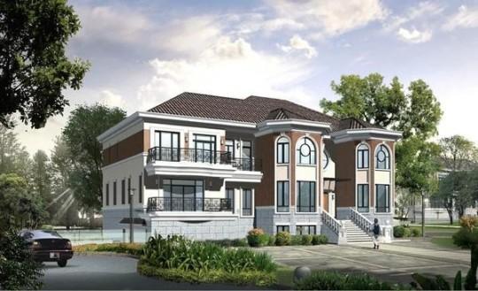 【二层】带露台自建别墅设计全套施工图