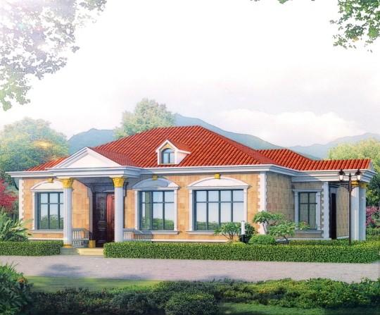 【一层】独栋自建别墅设计全套施工图