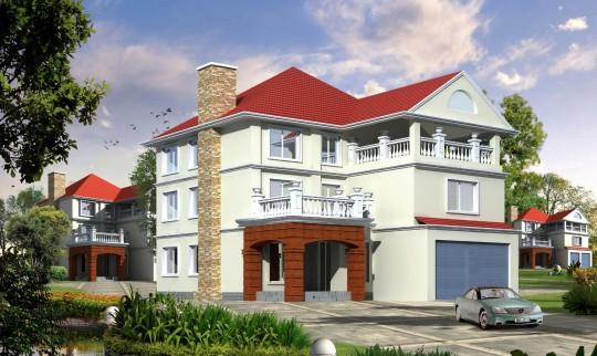 【三层】带车库自建别墅设计全套施工图