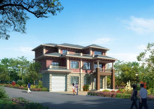 【三层】自建别墅设计全套施工图