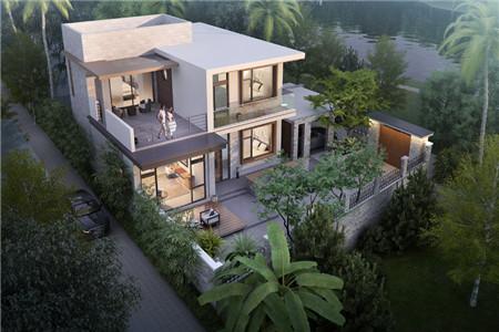 两层现代别墅图