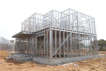 预制生产的钢构件