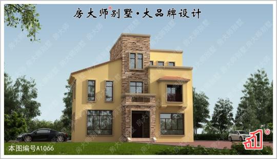 【时尚简洁】三层大空间现代别墅图纸 占地13.x11.2