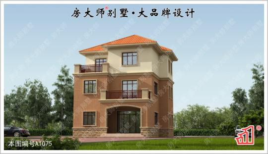 【养老首选】三层现代简约5室3厅别墅图纸 占地10.2x11.6