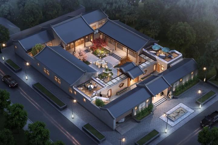 安徽淮北四合院设计