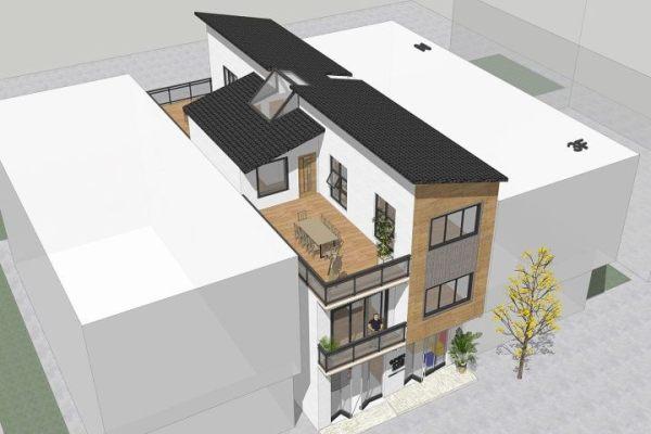 广西钦州周家现代自建房