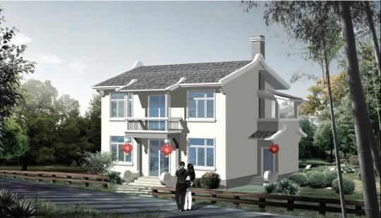 占地11x9二层独栋自建别墅设计全套施工图