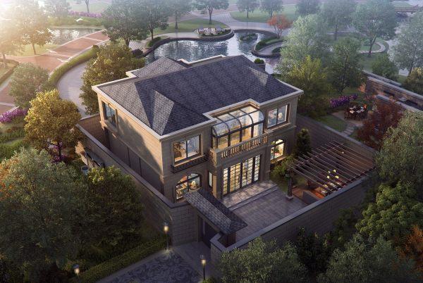 占地13x12二層帶庭院自建別墅設計全套施工圖