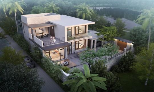 占地11x12二层带车库露台自建别墅设计全套施工图