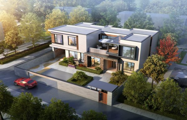 占地22x13二层带露台自建别墅设计全套施工图