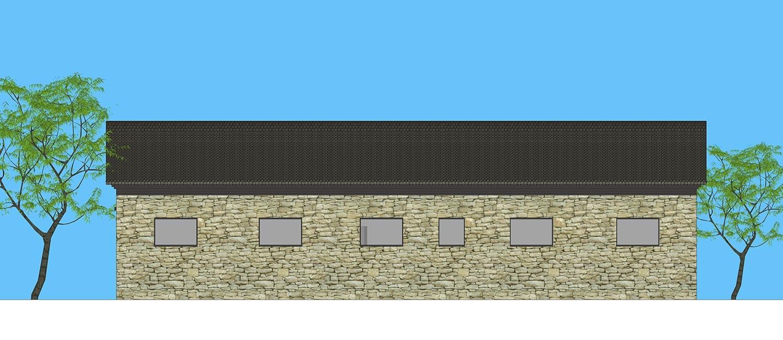 田园一层别墅设计图施工图