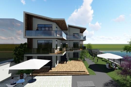 占地14x12三层带露台自建别墅设计全套施工图