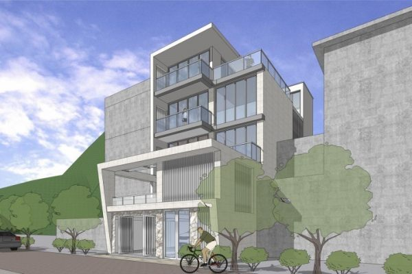 占地19x8四层带露台自建别墅设计全套施工图