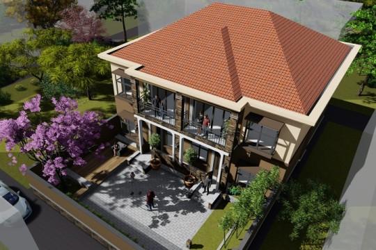 占地14x13二層雙拼自建別墅設計全套施工圖