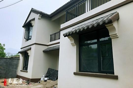 占地14x10二层带庭院露台自建别墅设计全套施工图