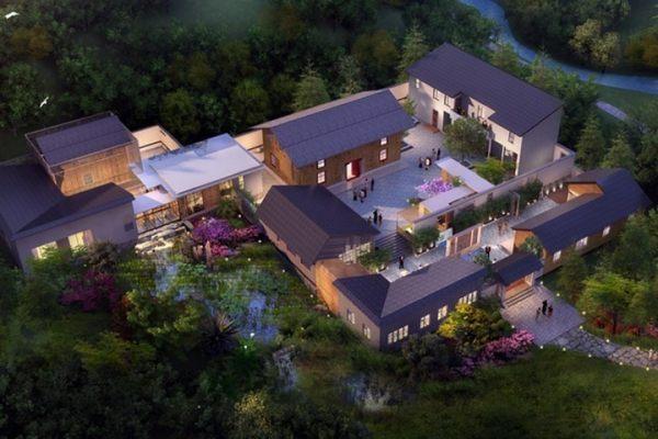占地56x43层自建度假村设计全套施工图