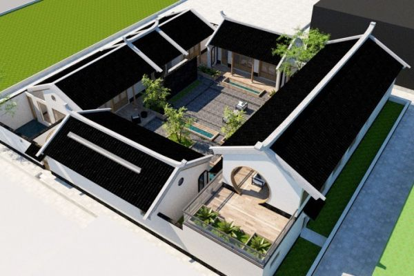 占地25x26二层自建别墅设计全套施工图