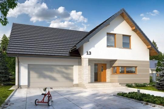 占地11x12二层带车库自建别墅设计全套施工图
