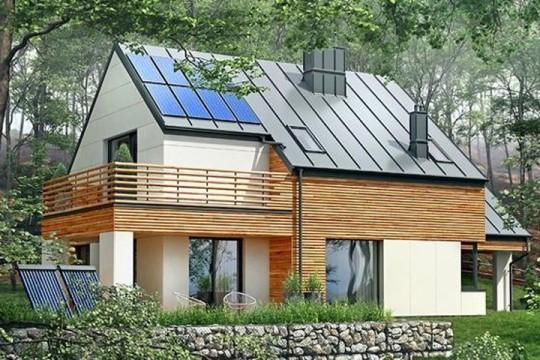占地10x12二层带露台自建别墅设计全套施工图