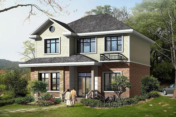 占地11x9二层欧式自建别墅设计全套施工图