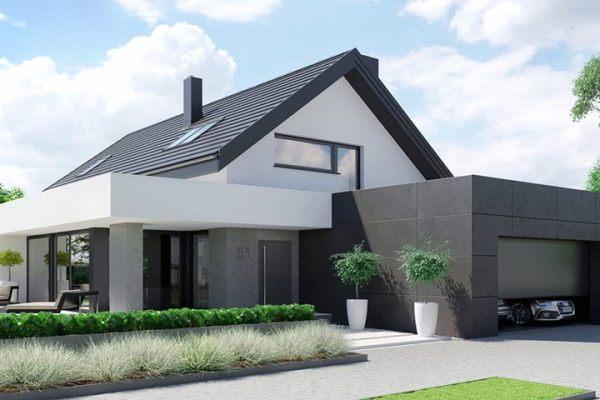 占地12x21二层带车库自建别墅设计全套施工图