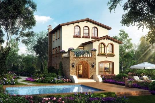 占地10x15三层自建别墅设计全套施工图