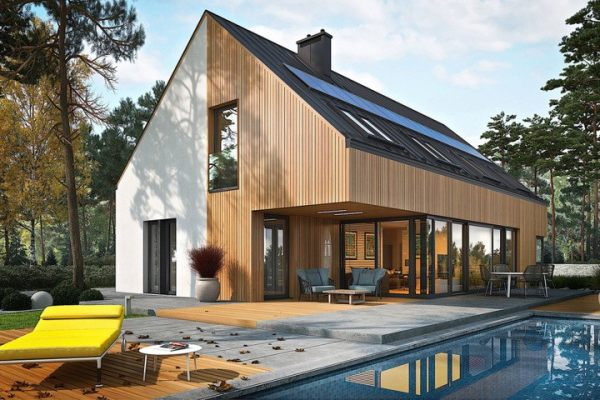 占地16x17二层带庭院自建别墅设计全套施工图