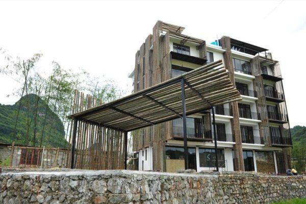 占地27x29五層自建客棧設計全套施工圖