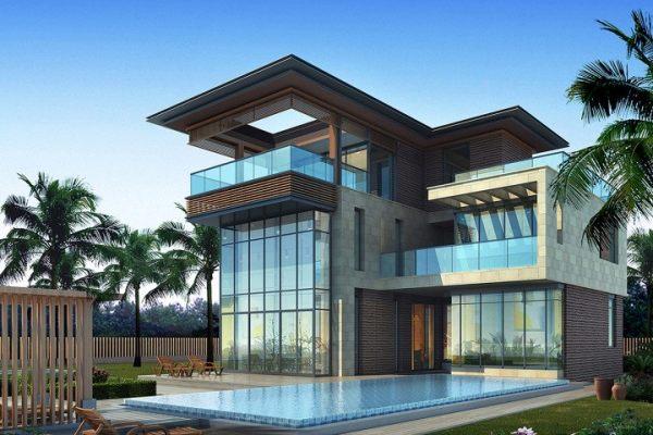 占地14x15三层带车库自建别墅设计全套施工图