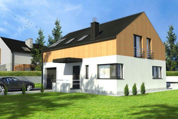 占地20x10二层带庭院自建别墅设计全套施工图