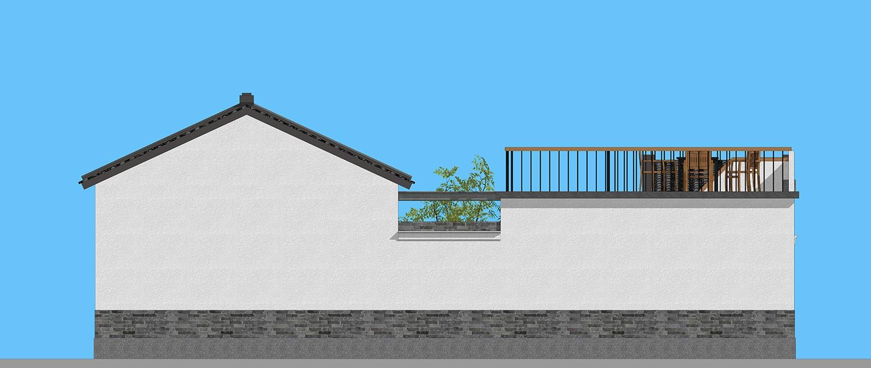 中式一層別墅設計圖施工圖