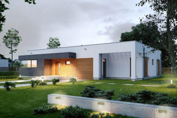 占地23x19一层简约风格自建别墅设计全套施工图
