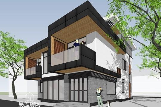 占地10x13三层带露台自建别墅设计全套施工图