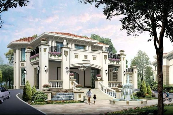 占地19x22三层带露台自建别墅设计全套施工图