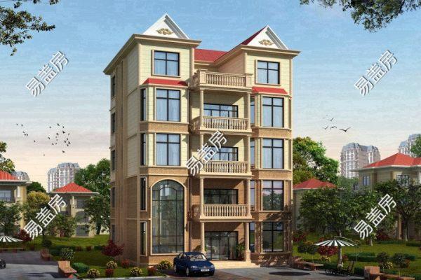 占地13x12五层带露台自建别墅设计全套施工图