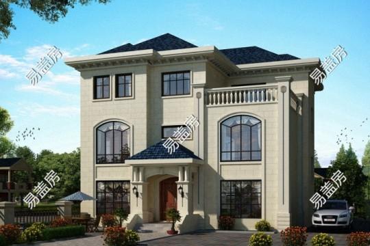 占地14x23三层带露台自建别墅设计全套施工图