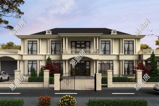 占地31x12二层带露台自建别墅设计全套施工图