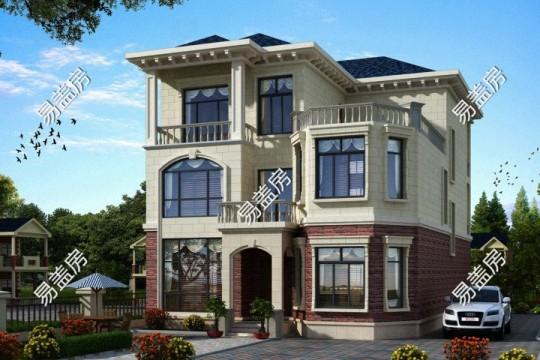 占地17x11三层带露台自建别墅设计全套施工图