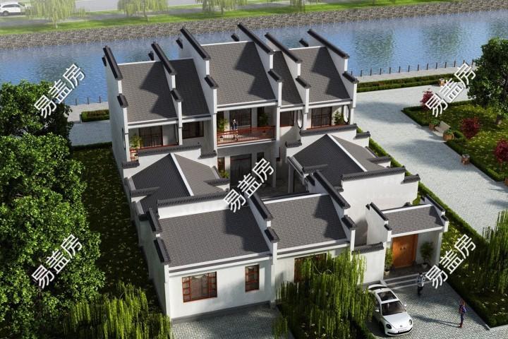 占地18x26二层带庭院自建别墅设计全套施工图