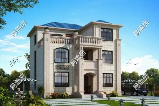 占地11x15三层带露台自建别墅设计全套施工图