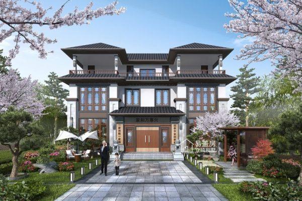 占地16x12三层自建别墅设计全套施工图