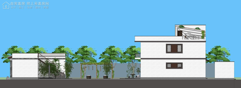 中式二层别墅设计图施工图