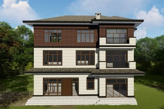 占地14x13三层带露台自建别墅设计全套施工图