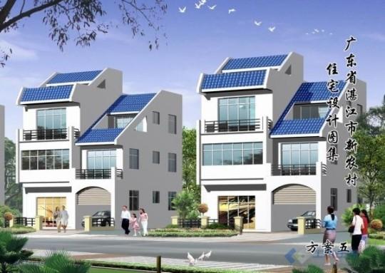占地9x11三層自建別墅設計全套施工圖