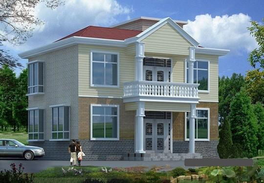 占地11x8二层独栋自建别墅设计全套施工图