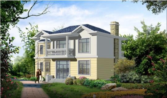 占地12x9二层独栋自建别墅设计全套施工图