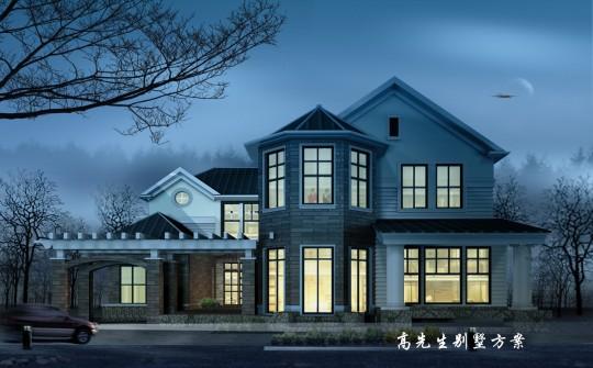 占地16x19二层独栋自建别墅设计全套施工图