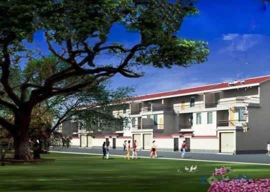 占地11x10二层带车库庭院自建别墅设计全套施工图