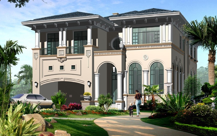 现代三层别墅设计图效果图